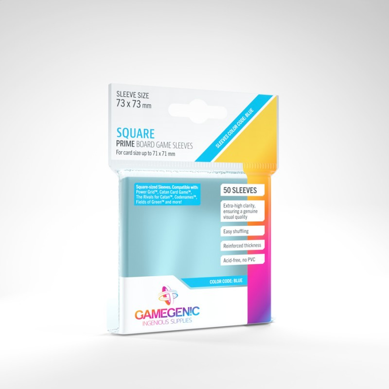 mighty-games-x50 Matte Sleeves Gamegenic - Square 73x73