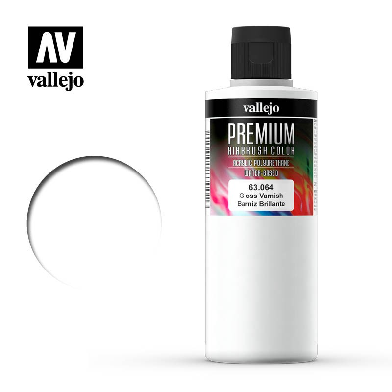 mighty-games-Vallejo Auxiliaries - Premium Gloss Varnish 200ml (63.064)