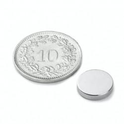 mighty-games-Neodym magnetic disk - Ø 10 mm, height 2 mm
