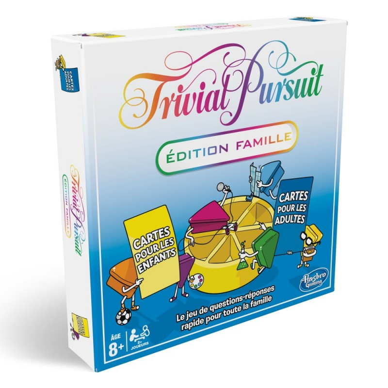 mighty-games-Trivial Pursuit - Edition Famille