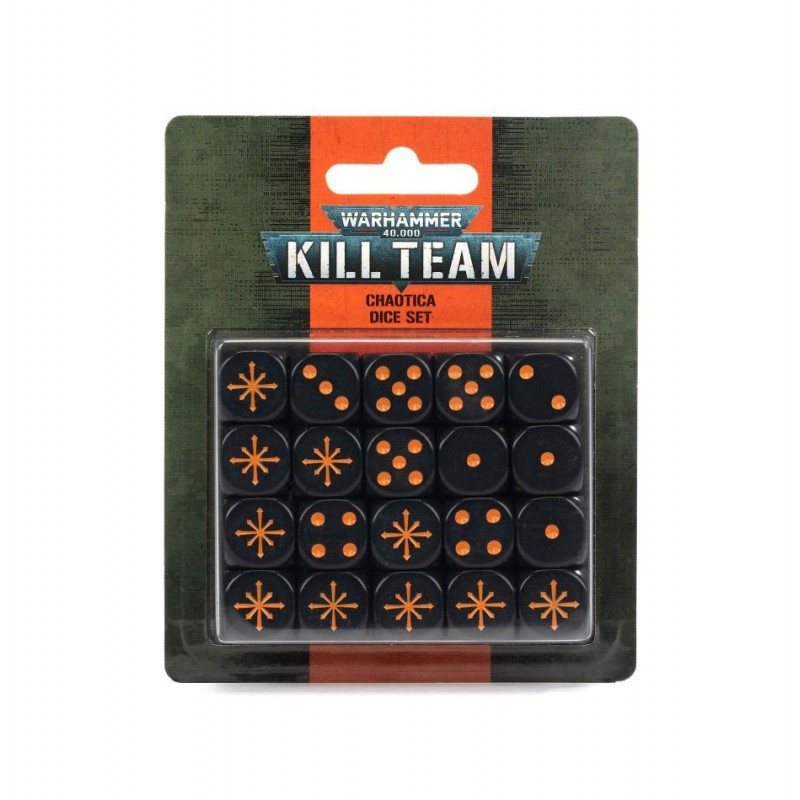 mighty-games-Kill Team: Chaotica Dice Set