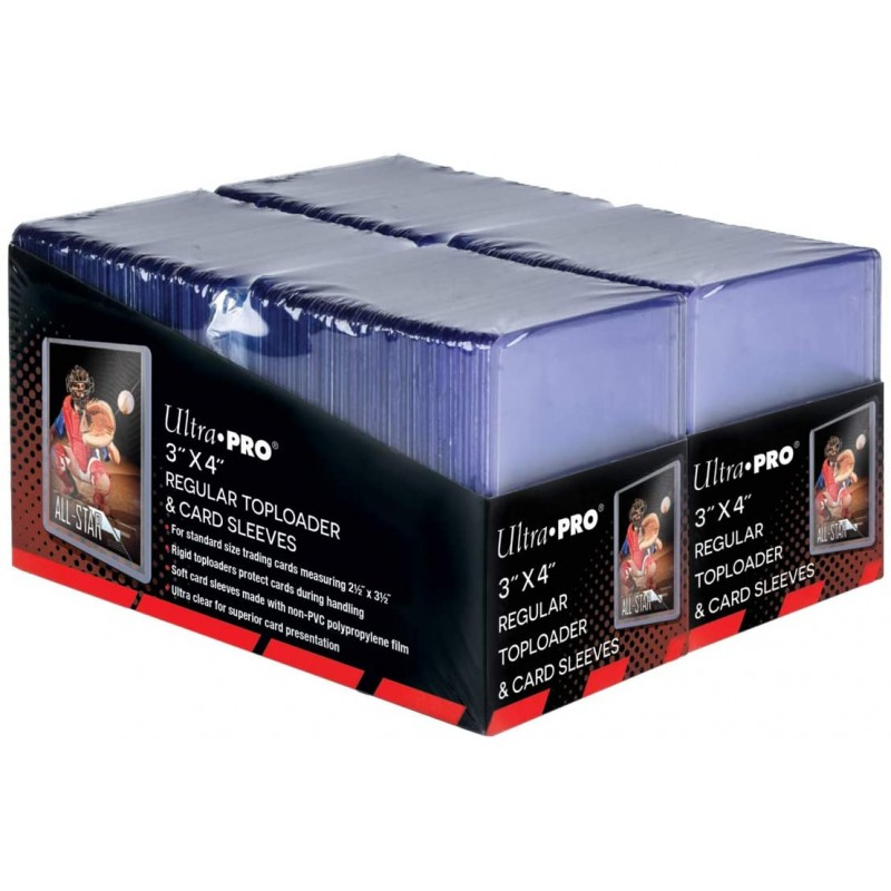 """mighty-games-Toploader - 3"""" x 4"""" Regular Toploaders & Card Sleeves (x200)"""