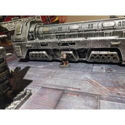 mighty-games-Necropolis Train - Pre-painted Resin Terrain