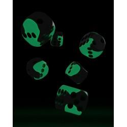 mighty-games-Glow in the Dark Oakie Doakie Dice - 36 dés D6 de 12 mm