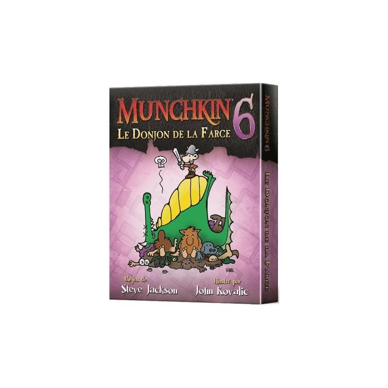 mighty-games-Munchkin 6 - Le Donjon de la Farce
