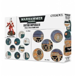 mighty-games-Sector Imperialis: 25mm and 40mm round pedestals